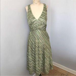 Kay Unger V-Neck Dress